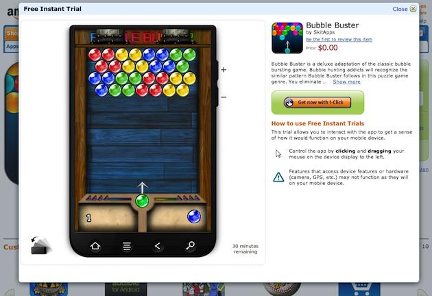 amazon-appstore-bubble-buster-test-drive