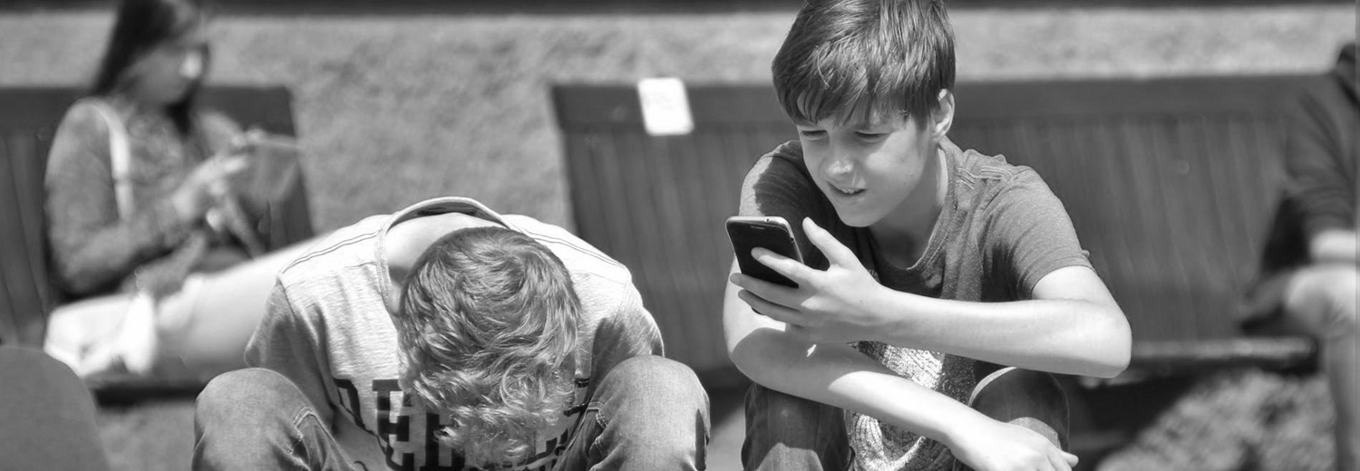 Child Using Phone